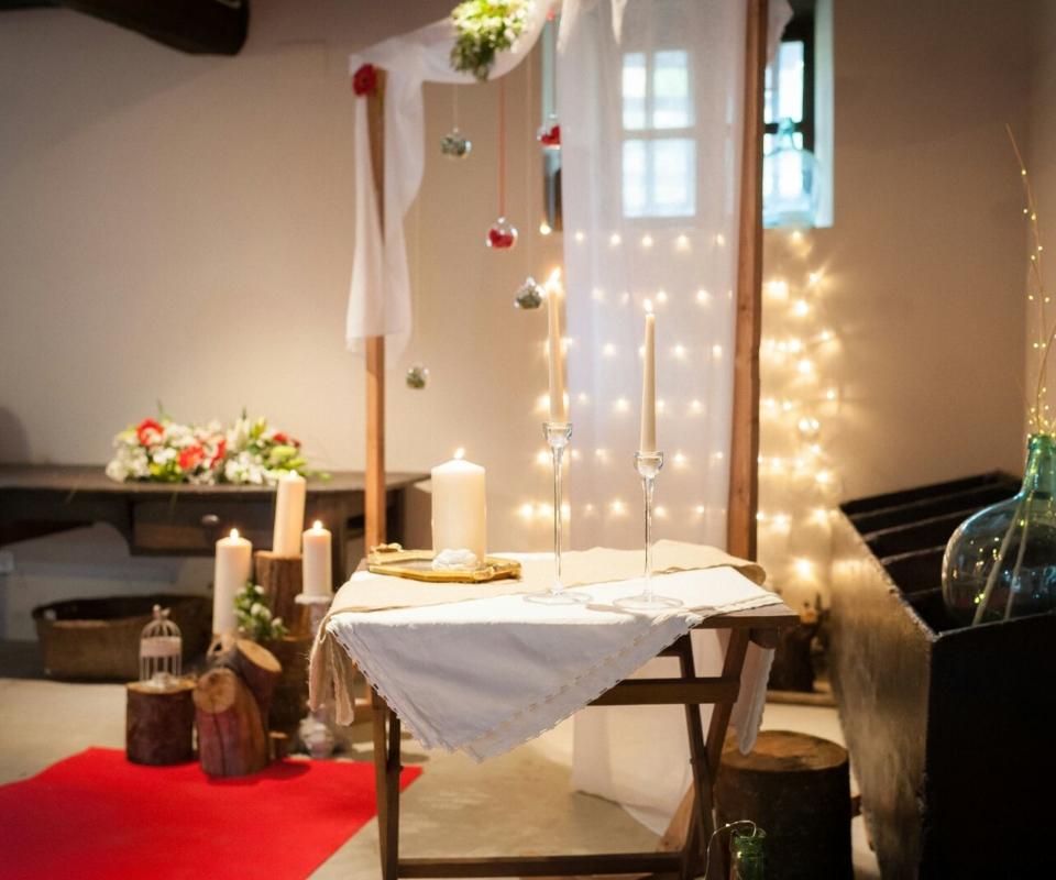 alquiler de decoración para bodas bizkaia