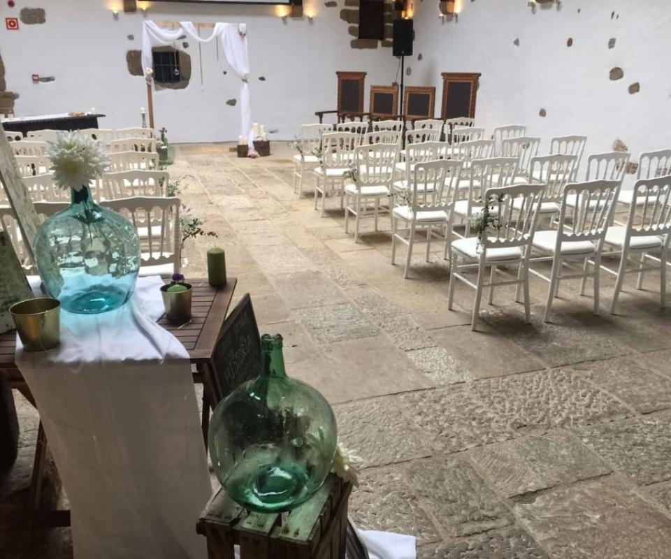 alquiler de sillas para eventos euskadi