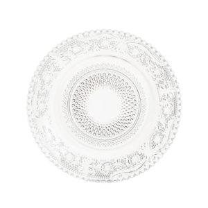 Plato de pan transparente
