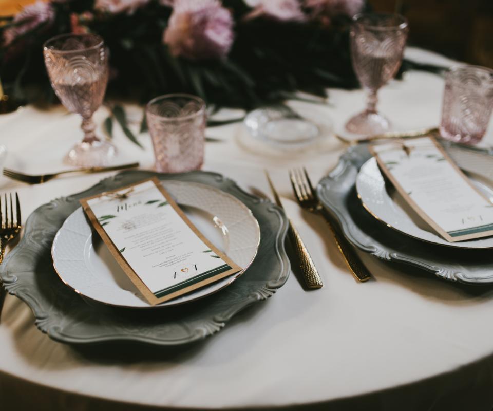 Alquiler de menaje para bodas vitoria