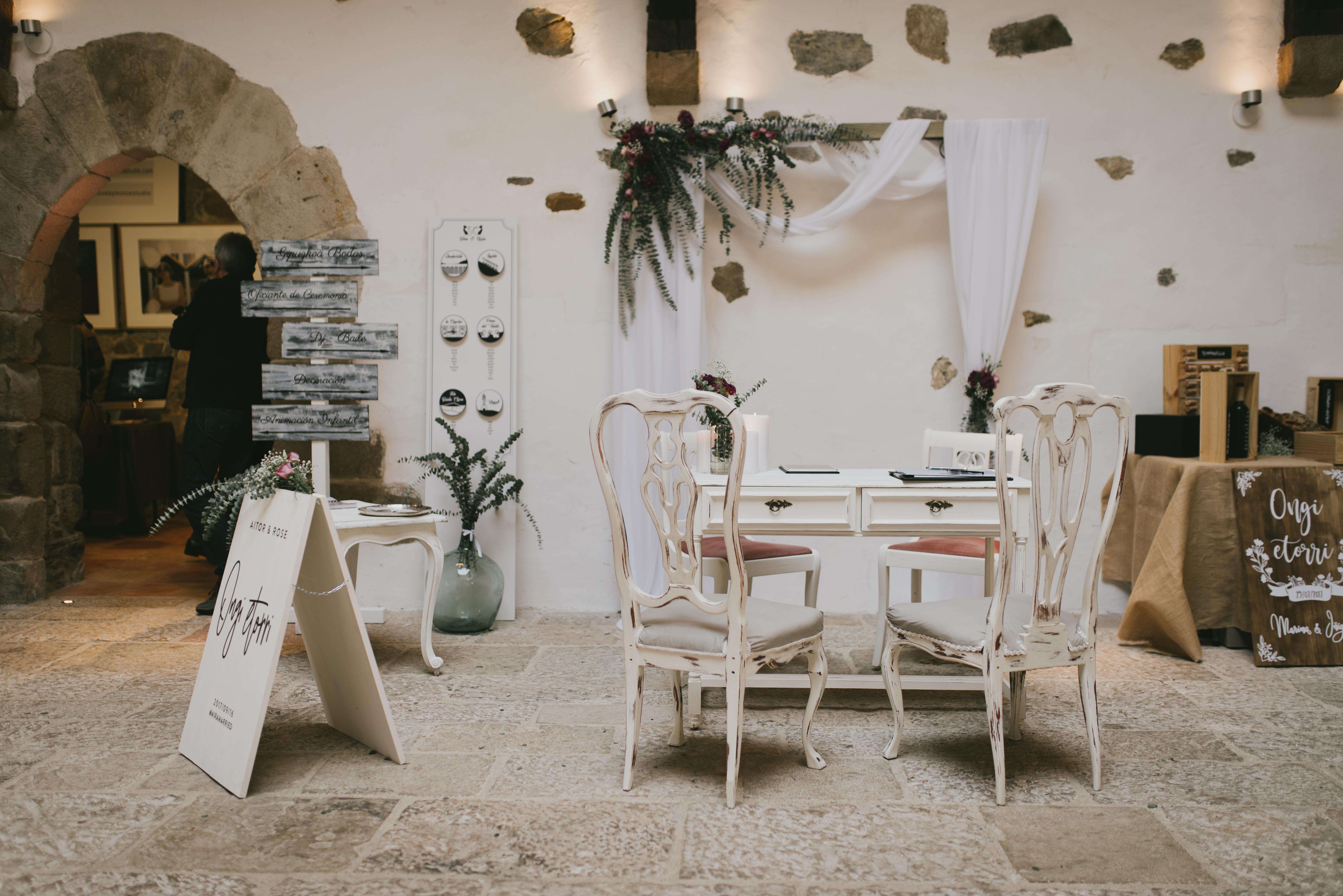 alquiler de mobiliario para bodas