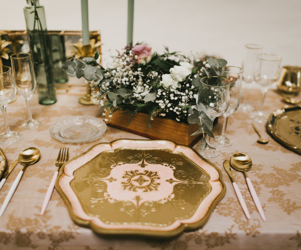 Alquiler de menaje para bodas en gipuzkoa