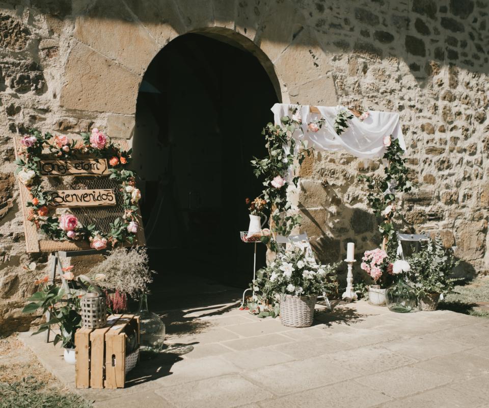 alquiler de decoración para ceremonia