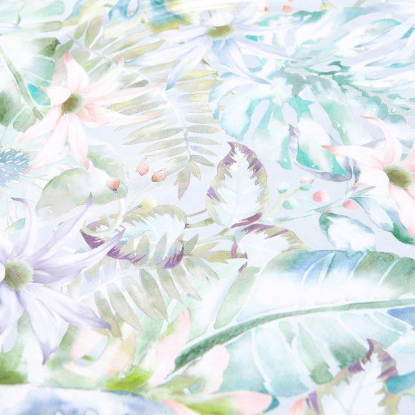 Bajoplato de flores