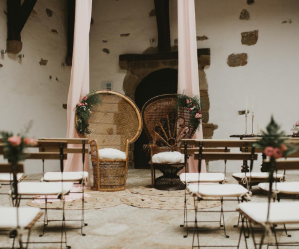 alquiler de mobiliario para bodas gipuzkoa
