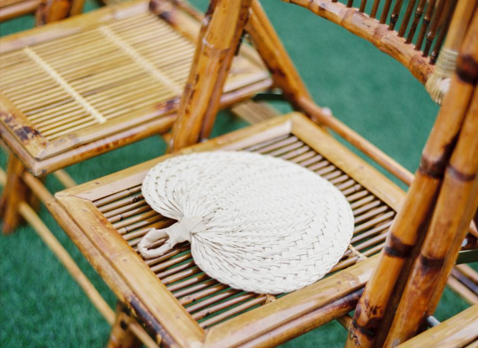 alquiler de sillas de bambú norte