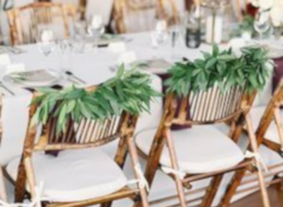 alquiler de sillas de bambú bilbo