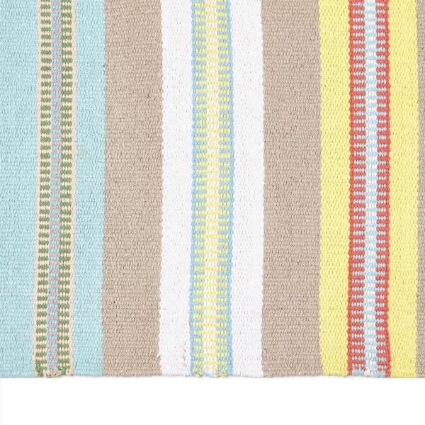 alfombra pasillera rayas multicolor