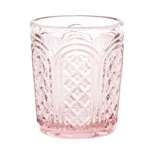 Conjunto Rosa de copa y vaso