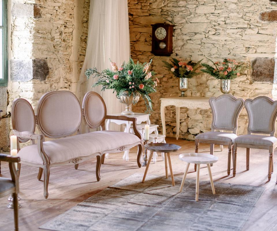 Alquiler de mobiliario nupcial - Bodas y eventos