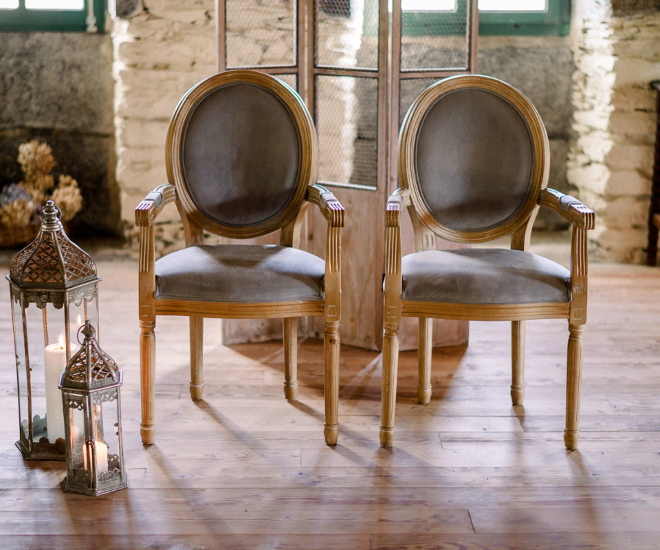 Alquiler de material - sillones ceremonia bodas gipuzkoa