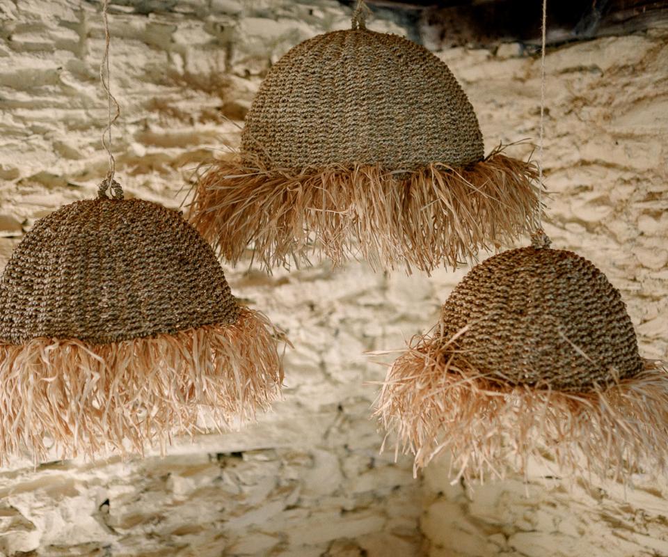 Alquiler de material nupcial - lámparas