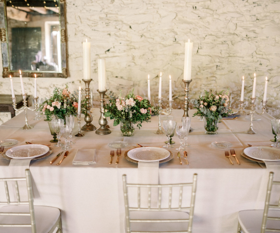 Menaje - Alquiler de material y menaje para bodas