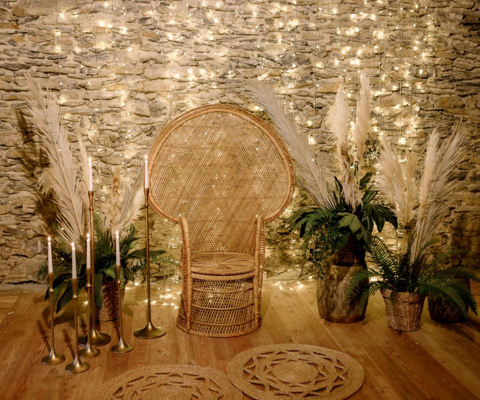 Ceremonia nupcial - alquiler de material para bodas