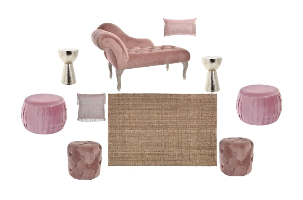 Zona Chill Out Pink Velvet