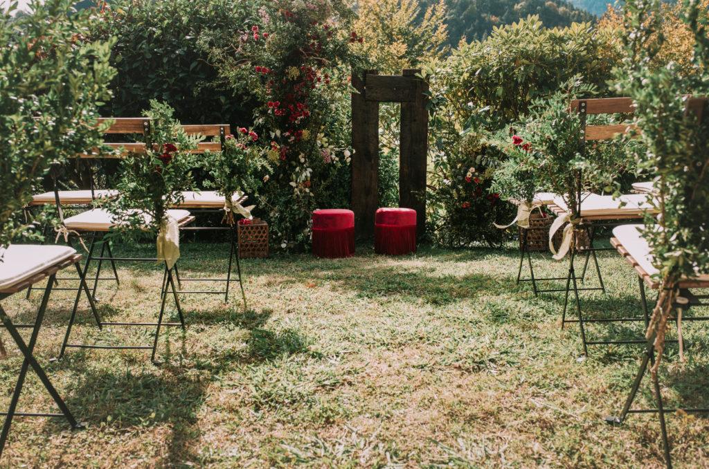 Altar en la naturaleza - Una boda sostenible