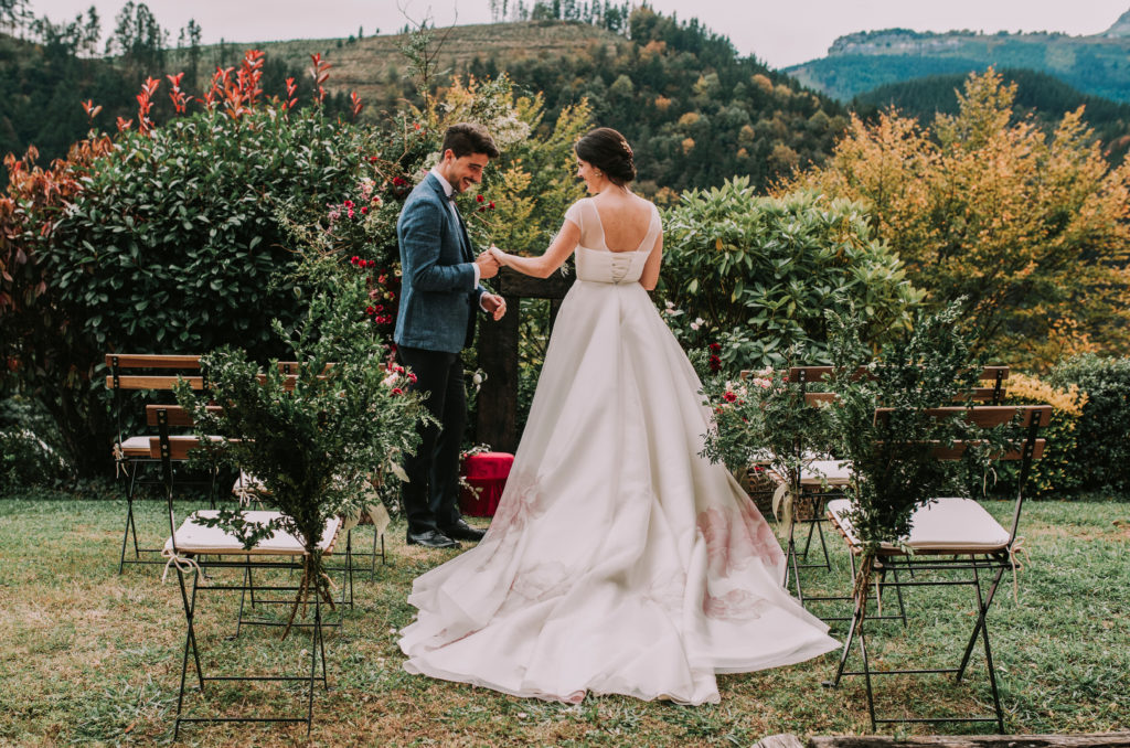 Ceremonia en la naturaleza - Una boda sostenible