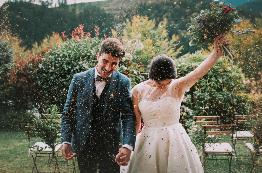 Confeti nupcial - Una boda sostenible