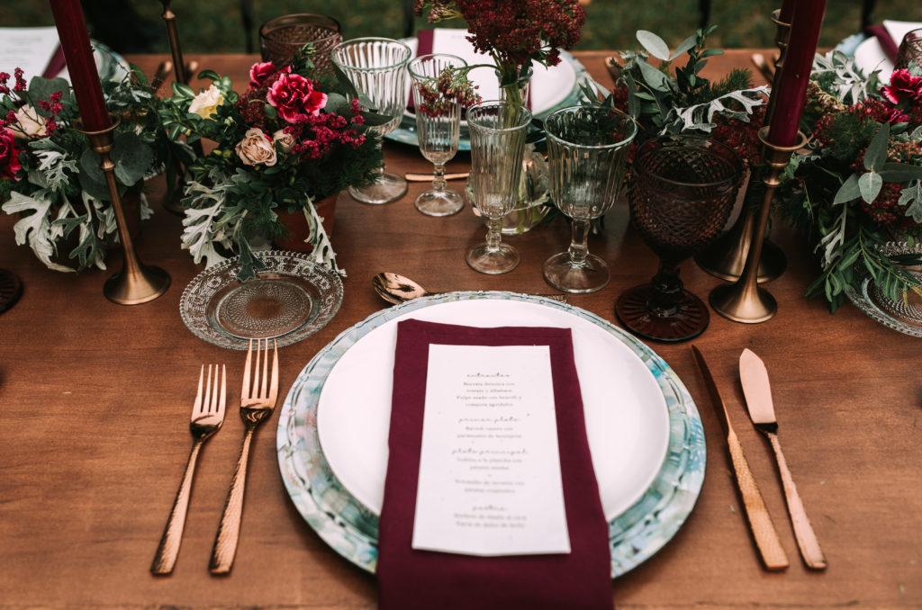 Menaje  - Una boda sostenible