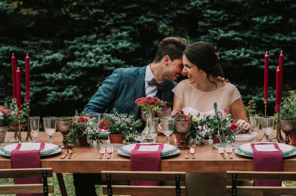 Mesa Presidencial - Una boda sostenible
