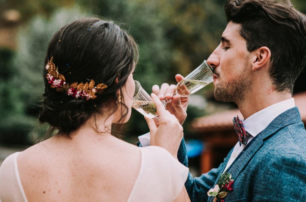 Brindis nupcial - Una boda sostenible