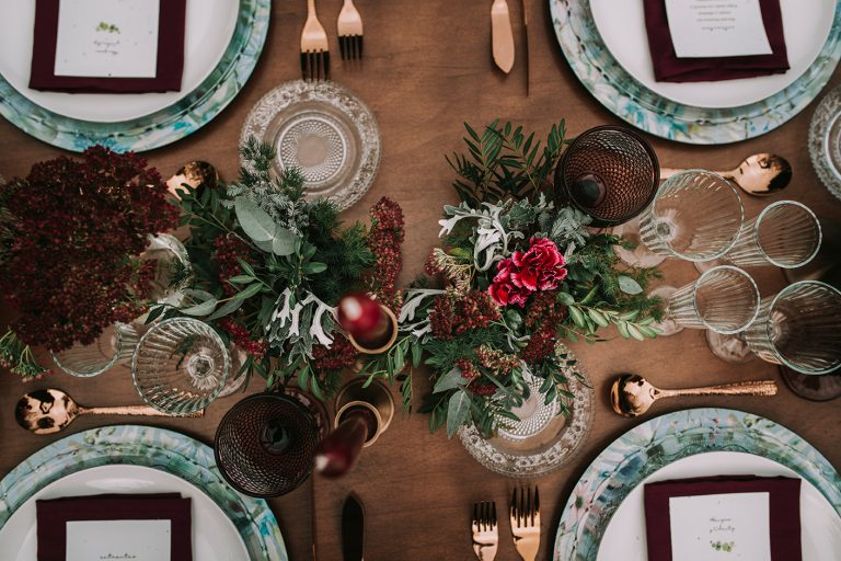 Banquete nupcial - Una boda sostenible