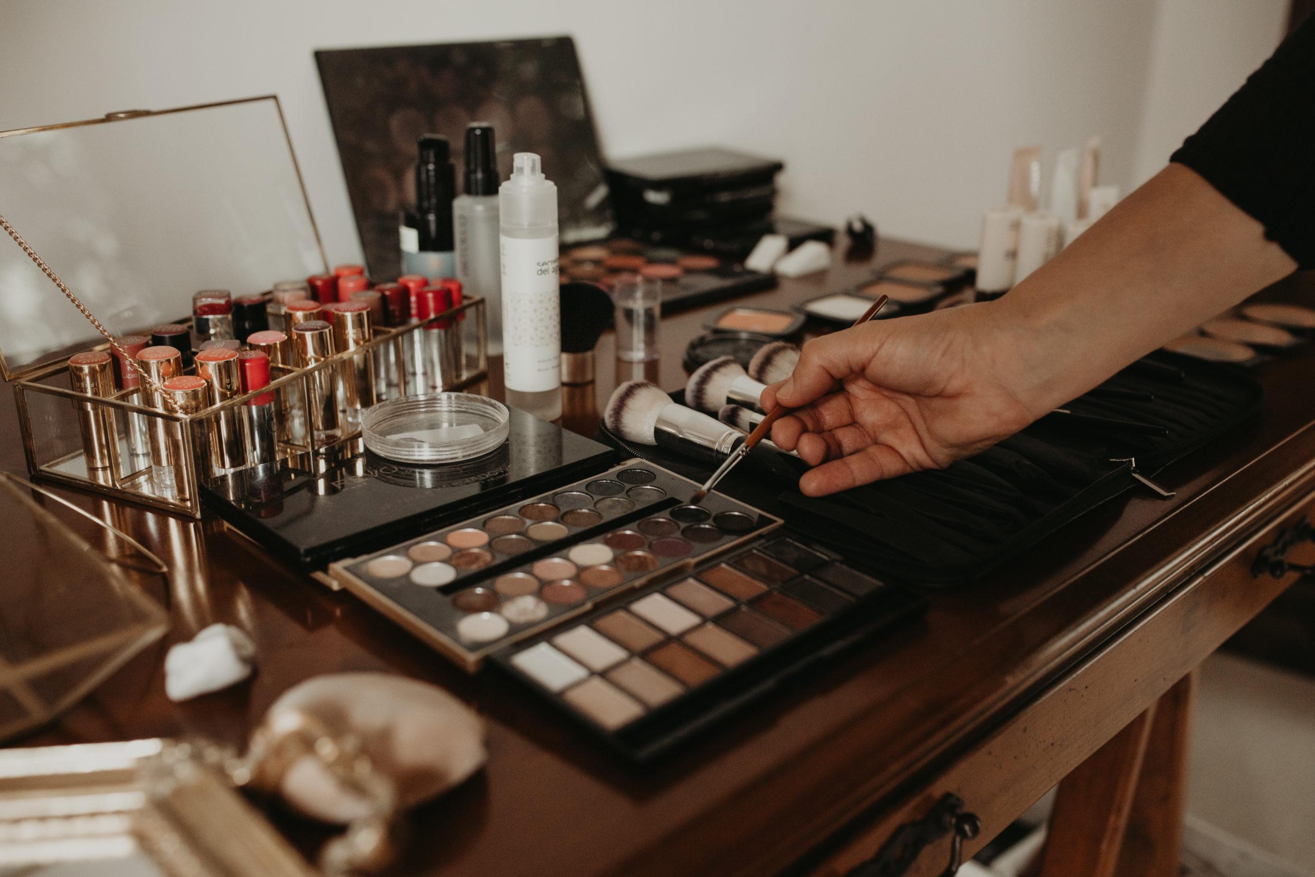 Paleta de maquillaje para bodas