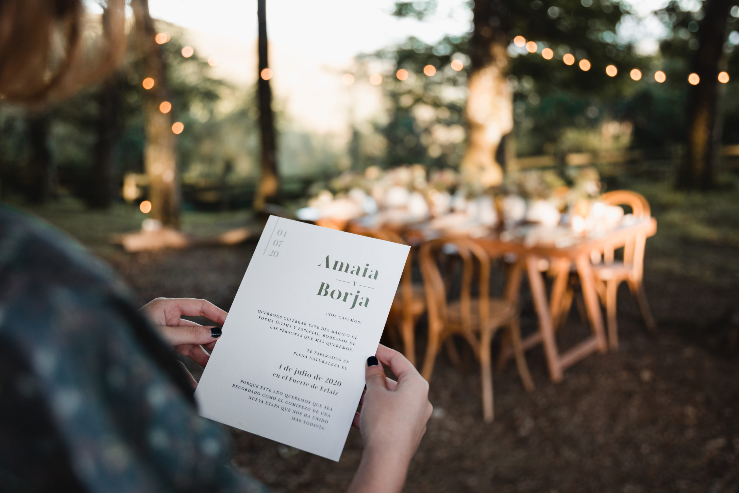 Invitación al banquete nupcial
