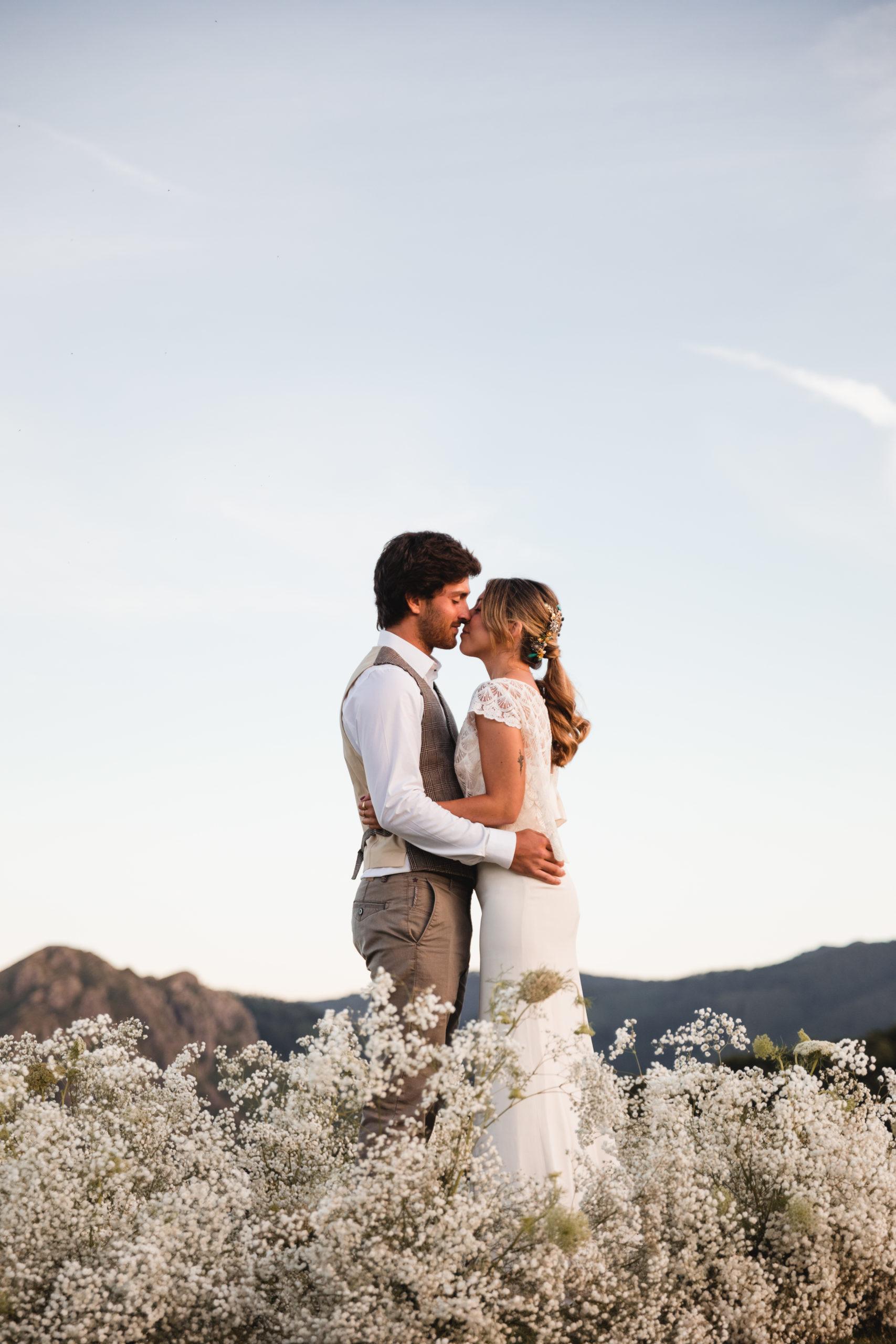 Una boda en las nubes