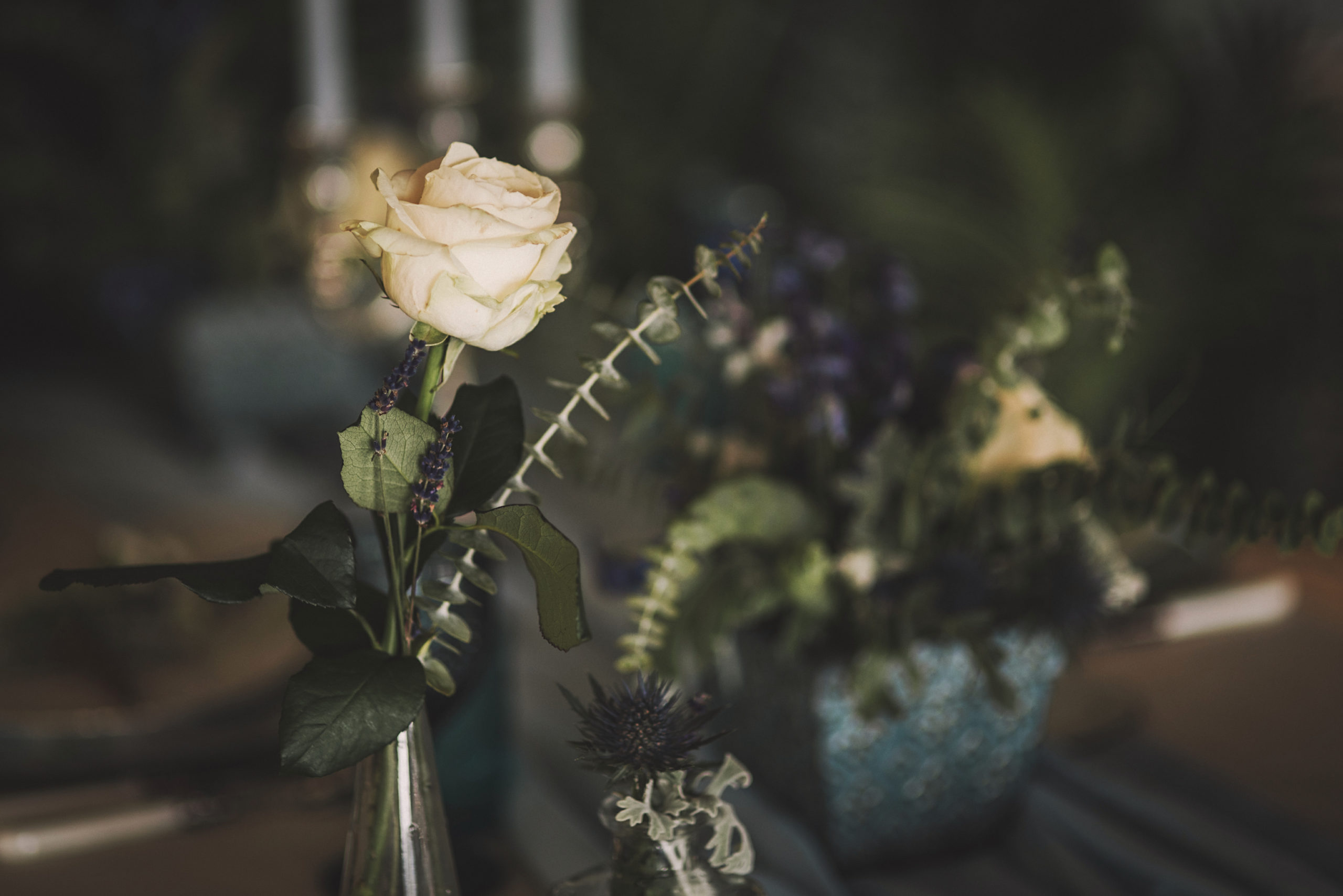 Decoración floral de banquetes