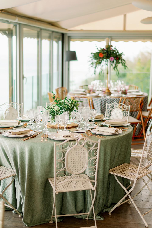 Decoración mesa presidencial para bodas